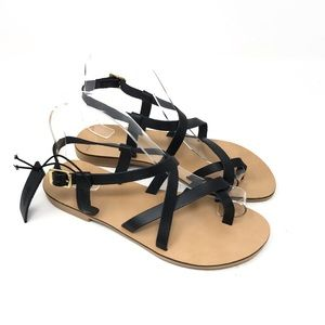 Topshop Sandals Hiccup Strappy Toe Ring Arcadia